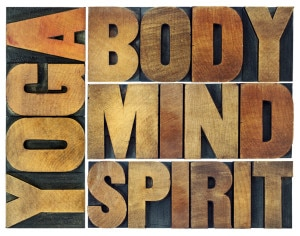 yoga, body, mind, soul and spirit